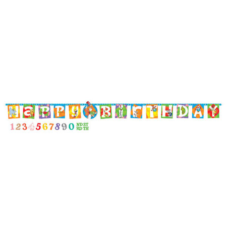 Dr Seuss Letter Birthday Banner