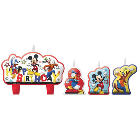 Mickey On The Go Molded Candle Set