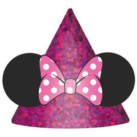 Minnie Mouse Helpers Party Hats 8pk