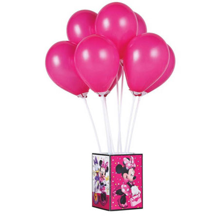 Minnie Mouse Helpers Balloon Centerpiece