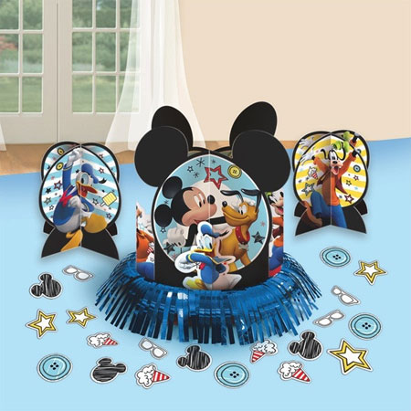 Mickey Mouse On the Go Table Decor Kit