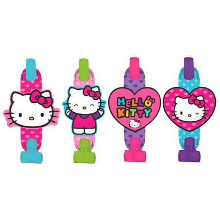 Hello Kitty Rainbow Blowouts 8pk