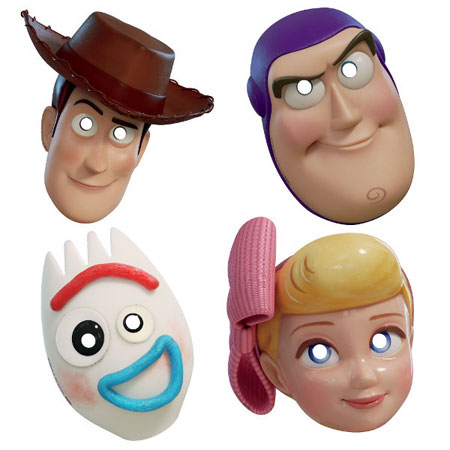 Toy Story Paper Masks 8pk