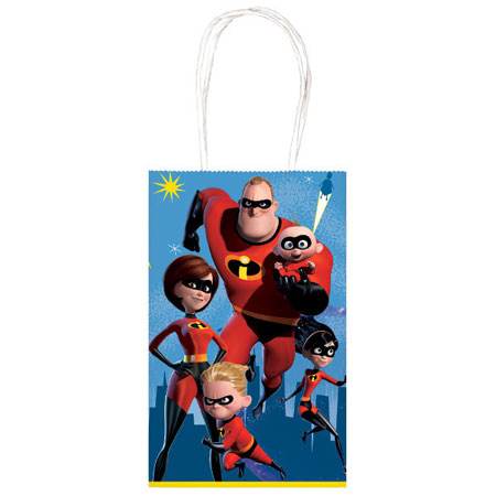 Incredibles Paper Goody Bags 10pk