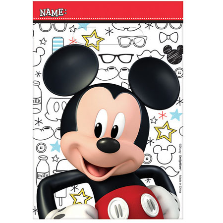 Mickey Mouse On the Go Loot Bags 8pk