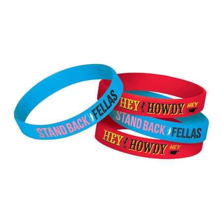 Toy Story 4 Rubber Bracelets 4ct