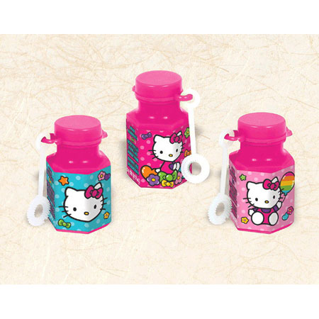 Hello Kitty Rainbow Bubbles 12pk