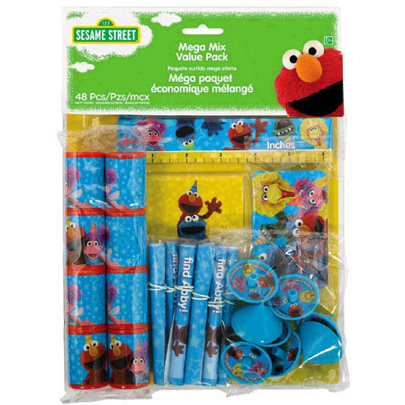 Sesame Street Mega Mix Party Favor Pack