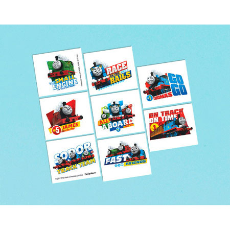 Thomas All Aboard Temp Tattoos