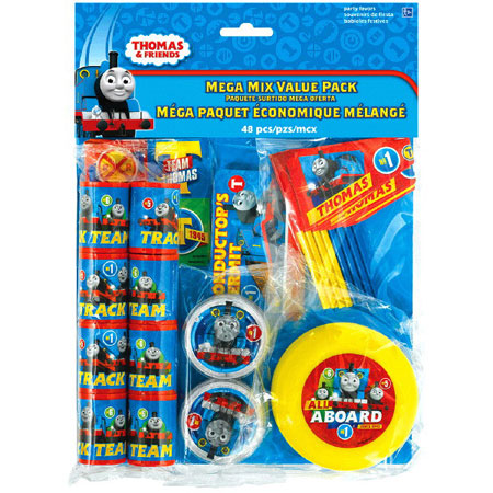 Thomas All Aboard Mega Mix Party Favor Pack