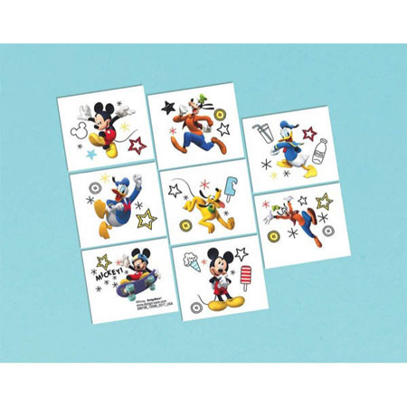 Mickey Mouse On the Go Temp Tattoos