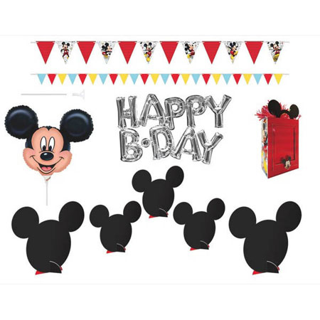 Mickey Mouse On the Go Decoration Kit
