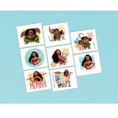 Moana Temp Tattoos