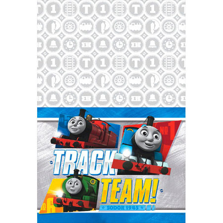 Thomas All Aboard Plastic Table Cover