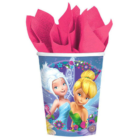 Tinker Bell Fairies 9oz Cups 8pk