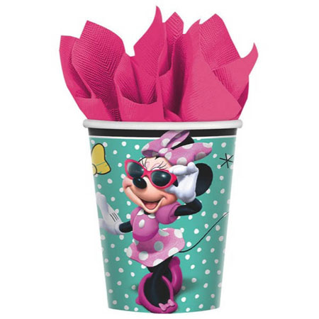 Minnie Mouse Helpers 9oz Cups 8pk