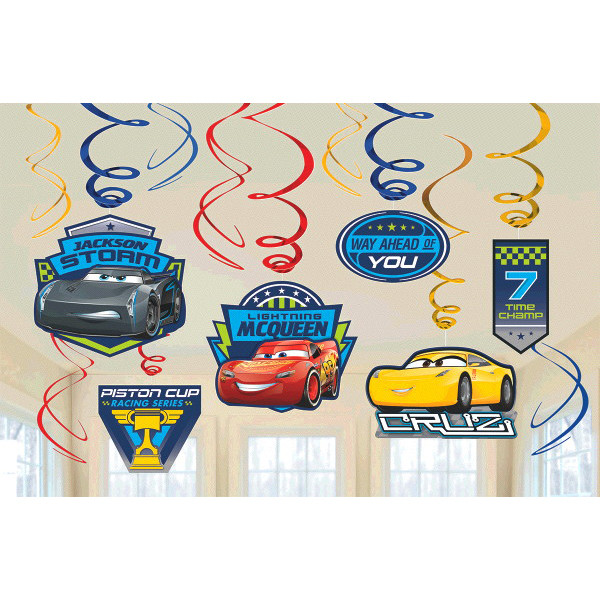 Disney Cars 3 Hanging Swirls