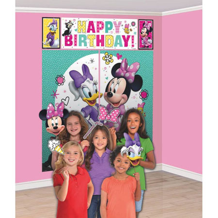 Minnie Mouse Scene Setter Kit