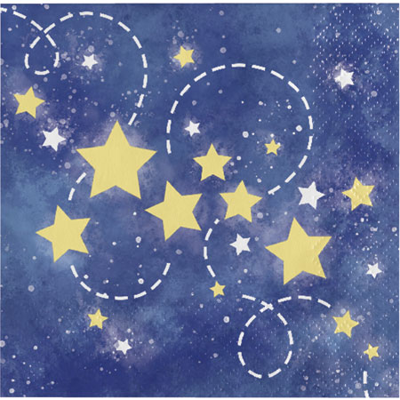 To the Moon and Back Beverage Napkins 16pk