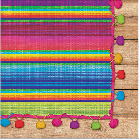 Serape Fiesta Lunch Napkins 16pk