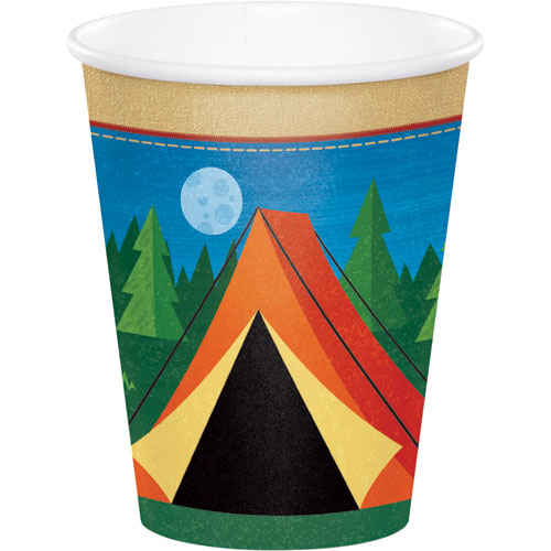 Camp Out 9oz Cups 8pk