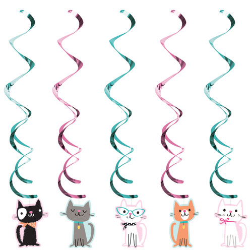 PurrFect Party Dizzy Danglers