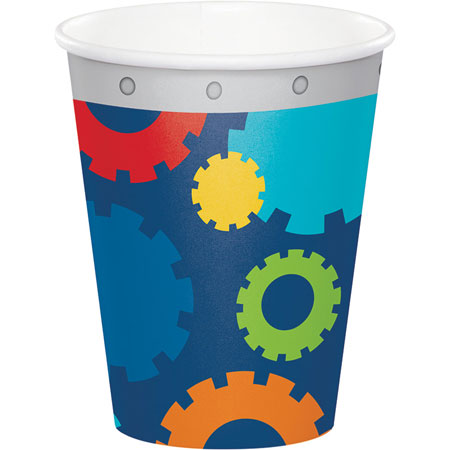 Party Robots 9oz Cups 8pk