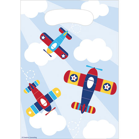 Lil Flyer Airplane Loot Bags 8pk