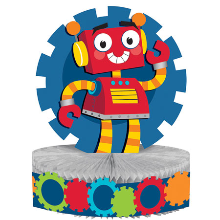 Party Robots Centerpiece Decoration