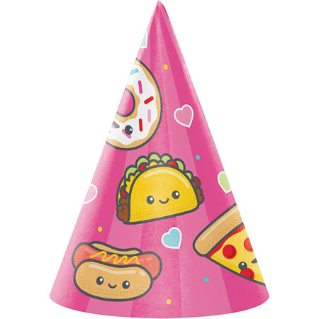 Junk Food Fun Child Hats 8pk