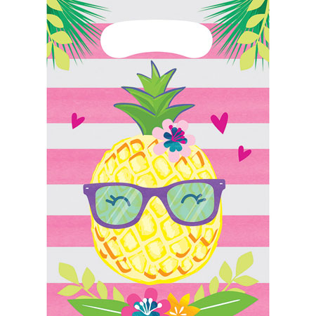 Pineapple N Friends Loot Bags 8pk