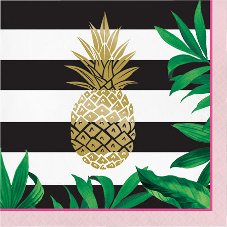 Pineapple Lunch Napkins 16pk