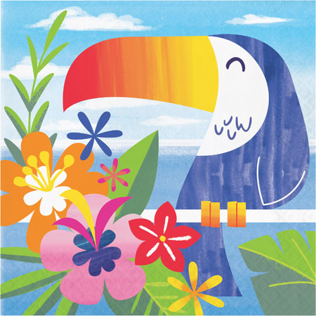 Lush Luau Lunch Napkins 16pk