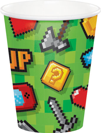Gaming Party 9oz Cups 8pk
