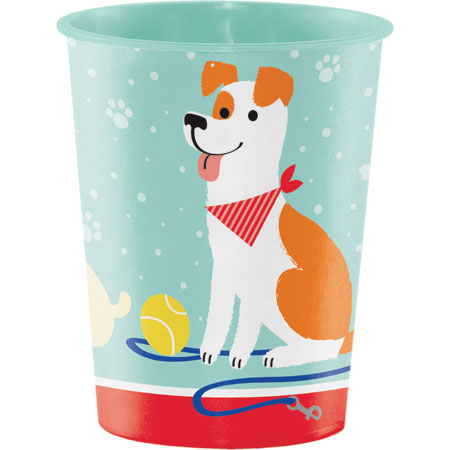 Dog Party Plastic Keepsake Cup 16oz