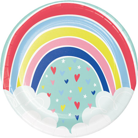 Over The Rainbow Dinner Plates 8pk