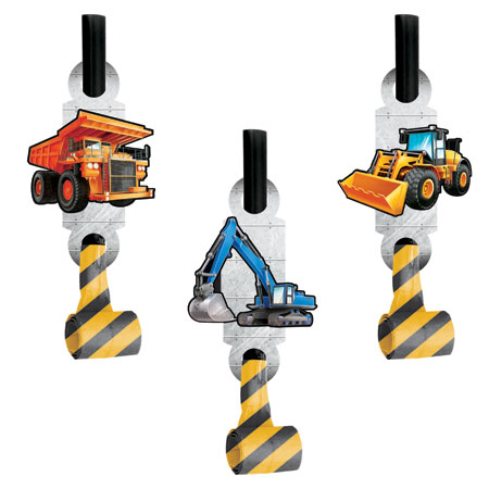 Big Dig Construction Blowouts 8pk