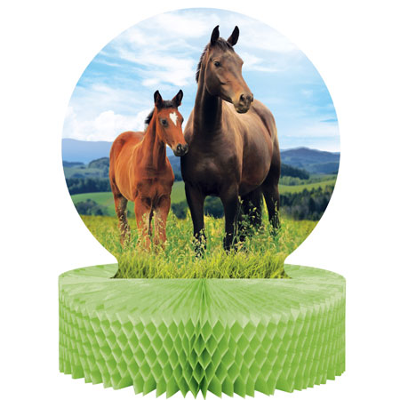 Horse And Pony Centerpiece