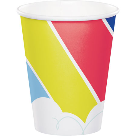 Over The Rainbow 9oz Cups 8pk