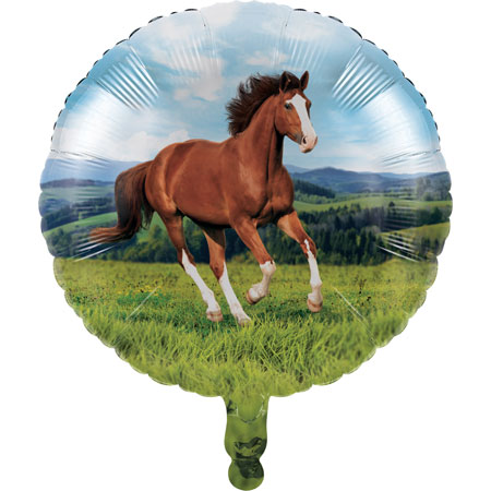 Horse And Pony 18in Foil Balloon