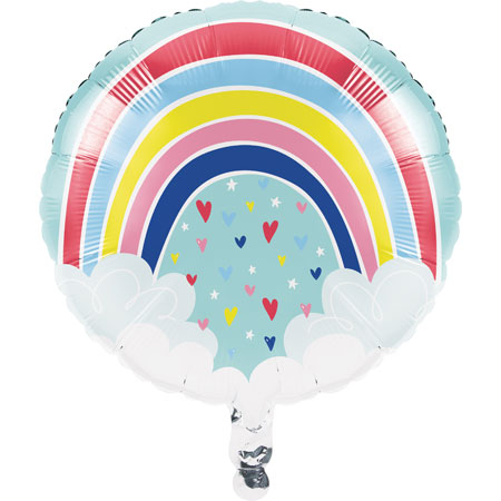 Over The Rainbow 18in Foil Balloon