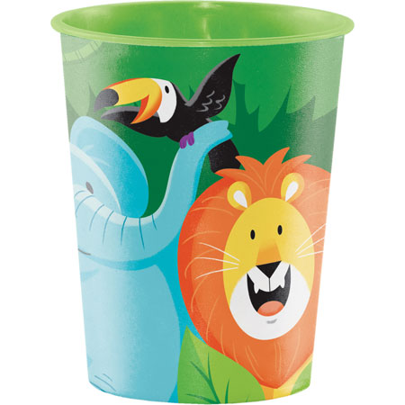 Jungle Safari 16oz Plastic Keepsake Cup