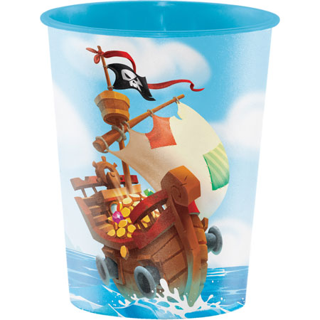 Pirate Treasure 16oz Plastic Keepsake Cup