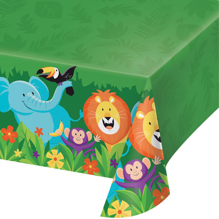 Jungle Safari Plastic Tablecover