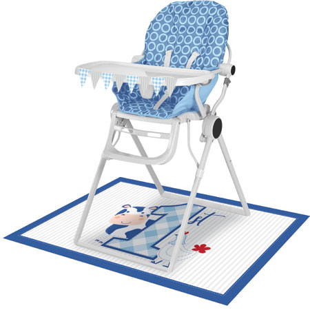 Farmhouse 1st Birthday Boy High Chair Kit