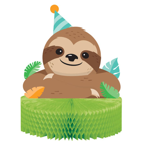 Sloth Party Centerpiece