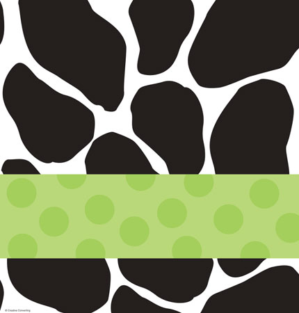 Baby Cow Print Baby Shower Plastic Tablecover