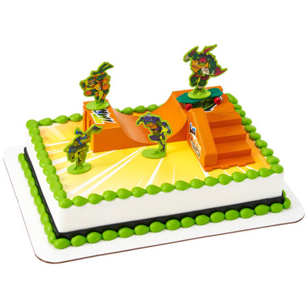 Teenage Mutant Ninja Turtles Rise Up Cake Kit