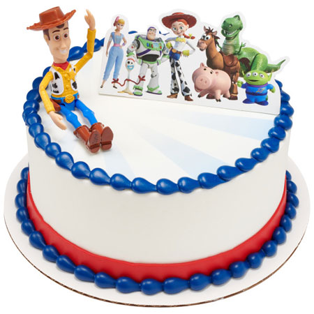 Toy Story 4 Cake Topper Decoration
