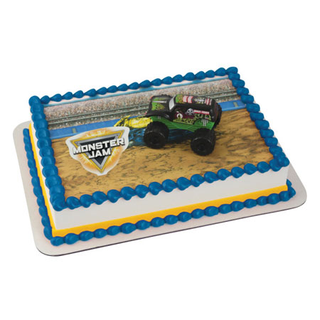 Monster Jam Cake Decoration Kit